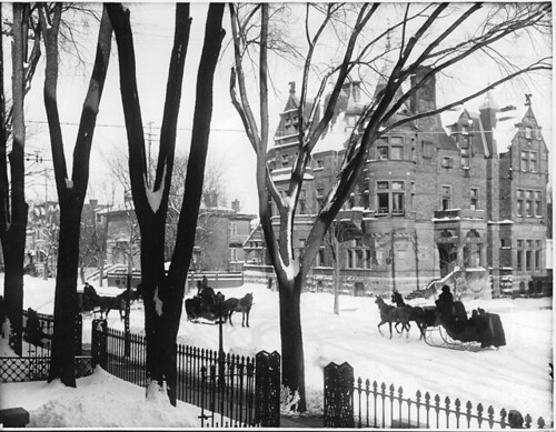 Sherbrooke Street in winter, Montreal, QC, 1896 | by Musée McCord Museum