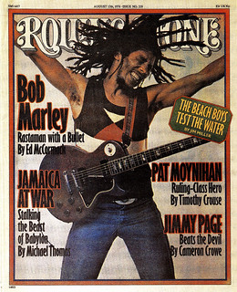 Bob Marley on the Cover of Rolling Stone Magazine, August 12, 1976 | by Skylar Scot