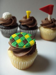 Mini Golf Cupcakes | by clevercupcakes