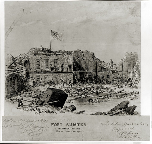Fort Sumter - December 9, 1863 | by exit78