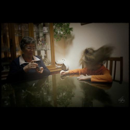 Abuela nieta 3D anime