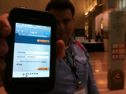 Yes, @downeym paid for Internet access at #mhs09 | by Wayan Vota