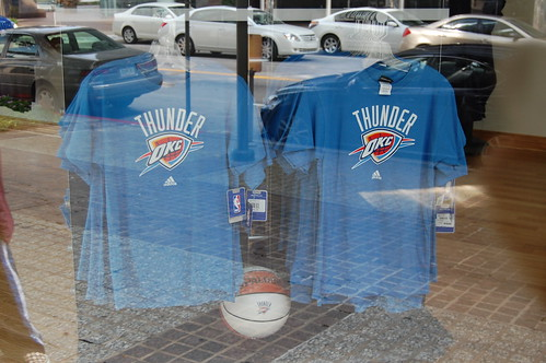 Oklahoma City Thunder shirts | by dfross