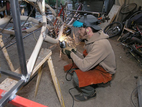 how to clean up welds