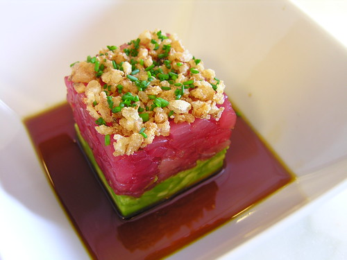 Ahi Tuna Tartare W Avocados Fried Shallots Soy Ginger Watermelon Wallpaper Rainbow Find Free HD for Desktop [freshlhys.tk]