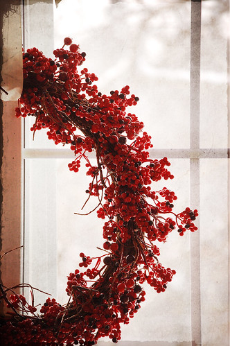 red berry wreath | by SurprisePally