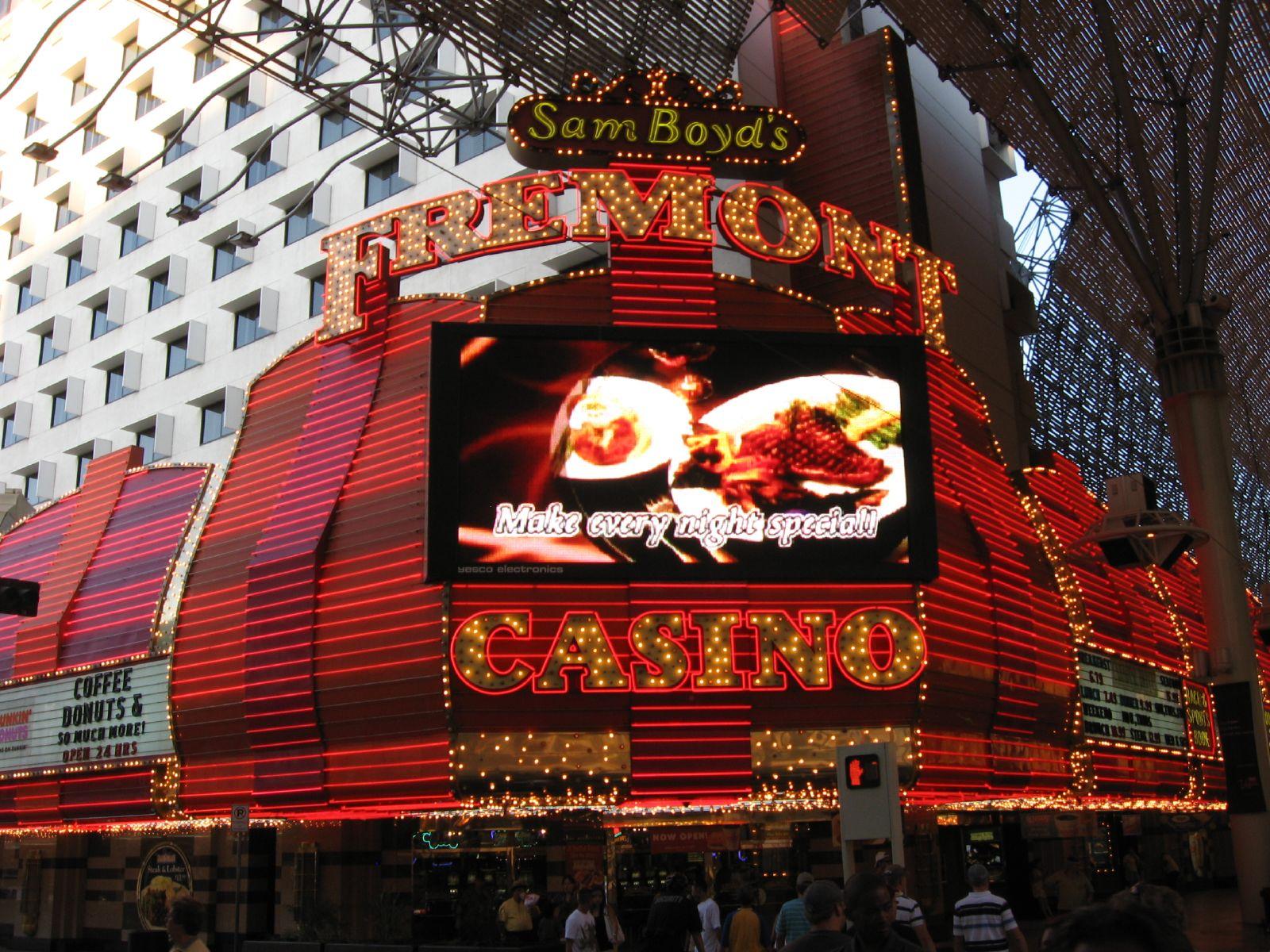 Sam Boyd's Fremont Casino, Fremont Street, Las Vegas, Nevada