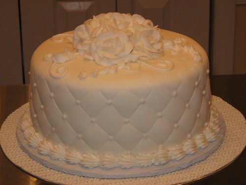 small wedding cake simple small wedding cake with slightly flickr. Black Bedroom Furniture Sets. Home Design Ideas