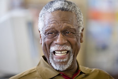 Bill Russell at McClymonds | by aliyin