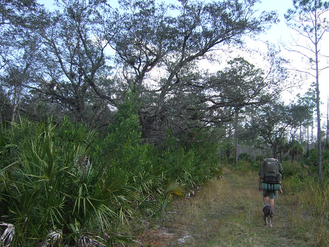 Seminole to 75 Backpacking 1-1-09 035