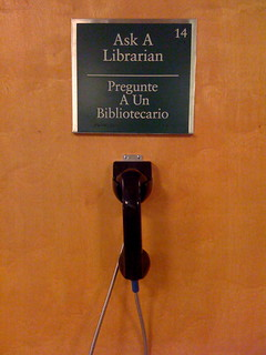 ask a librarian, telephony style