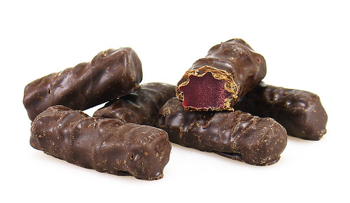Dark Chocolate Covered Red Licorice | by cybele-