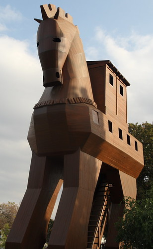 Replica of the Trojan Horse in Troy, Turkey | by Alaskan Dude