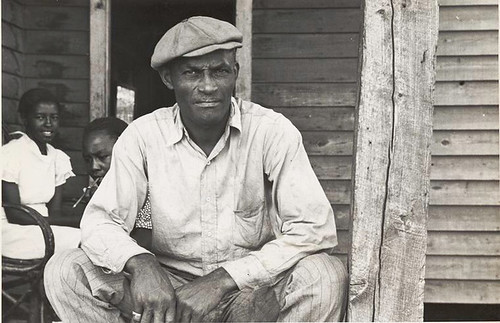 Sharecropper on Sunday, Little Rock, Ark., October 1935. | by New York Public Library