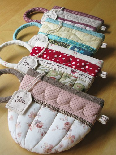 TeaCup pouches | by PatchworkPottery