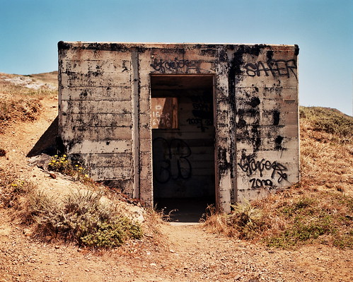 Machine Gun Nest, Hill 88, SF Bay Area, mamiya 7 rangefinder 120 | by J-diggity-dogg