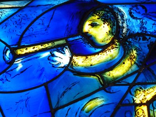 Chicago, Art Institute, Newly Reinstalled Chagall Windows, Detail VI | by Mary Warren (7.6+ Million Views)