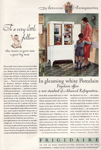 1930 Frigidaire Ad | by American Vintage Home
