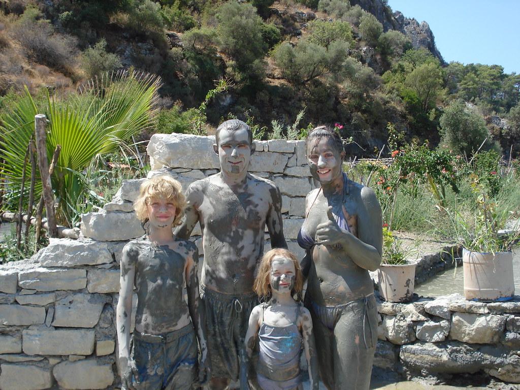 mud baths at dalaman