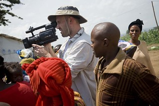 Ben Affleck visiting Nakivale Refugee Settlement | by UNHCR