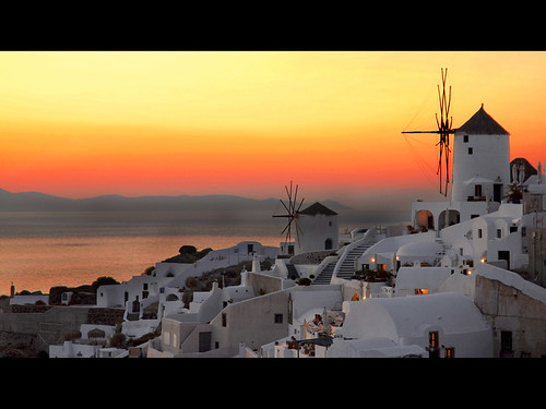 Santorini sunset | by MarcelGermain