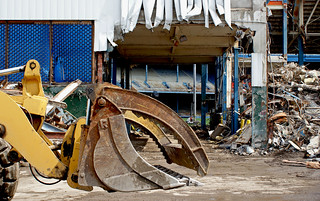 Tiger Stadium Demolition Trumbull Ave Detroit 7/08 | by Detroit Liger