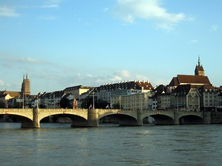 Basel's South Bank on the Rhine | by Sapphireblue