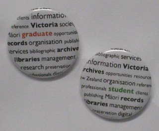 Promotional badges | by LIM Programmes @ Victoria