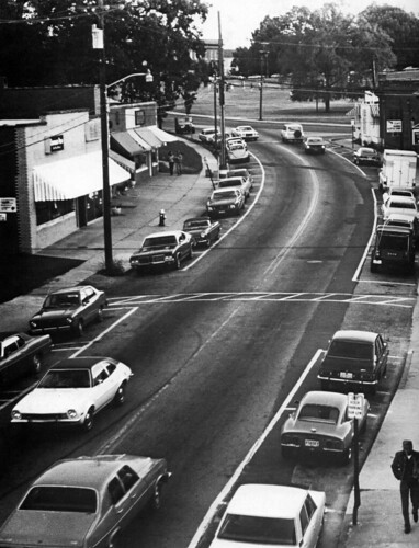 Downtown Clemson Fall 1977 | by joelgllespie1957