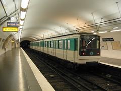 RATP metro Porte des Lilas ligne 3bis