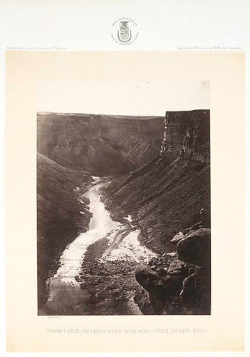 No. 7. Grand Canon, Colorado River, near Paria Creek, lookin... | by New York Public Library