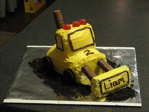 Bulldozer Cake Pictures