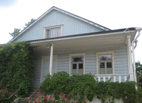 Sininen talo Suomenlinnassa