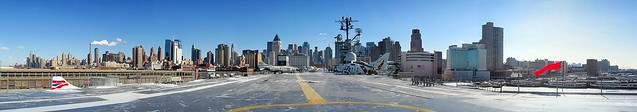 New York. Intrepid Sea, Air & Space Museum