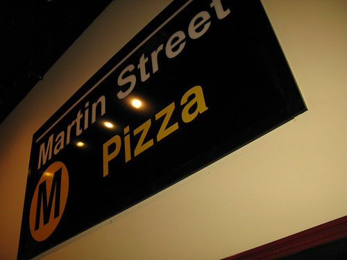 Martin St. Pizza | by el frijole