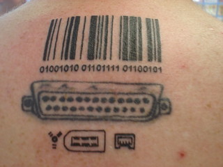 Bar code and ports tattoos | by nodomain1