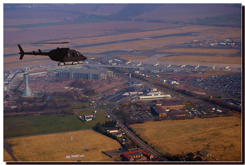 Helicopter over Edinburgh Scotland | by Photography by Peter Stanford