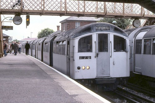 1962 Tube Stock at Epping