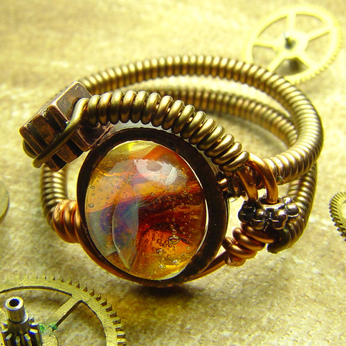 Steampunk Jewelry made by CatherinetteRings | by Catherinette Rings Steampunk