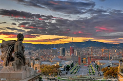 Barcelona sunset HDR | by MorBCN