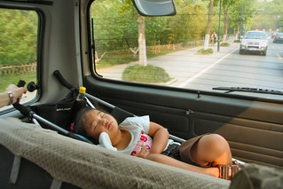 Sleepin' in the back of the van | by Donna & Andrew