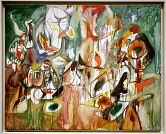One Year the Milkweed, 1944, oil on canvas by Arshile Gorky | by cliff1066™