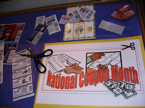 Day 263=National Coupon Month | by Manchester Library