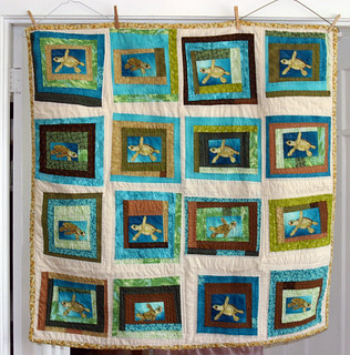Turtle Quilt Front FINISHED | by athenamat