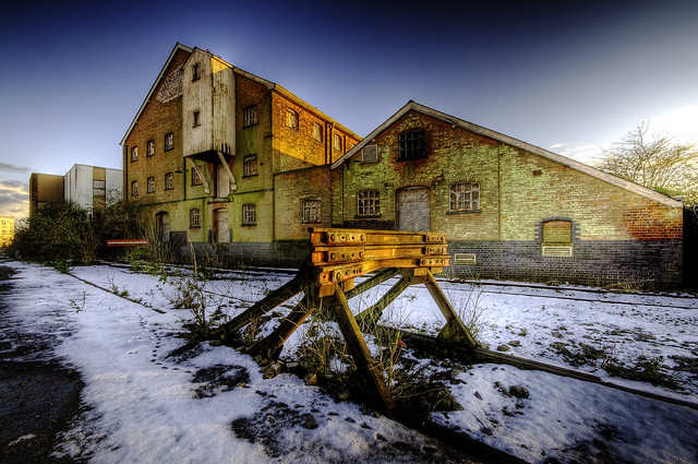 Burlingham Mill - HDR