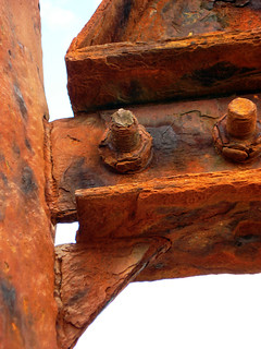 iron,rust and gum | by Perry French