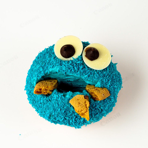 Cookie Monster Cupcake 2 | by Nick^D