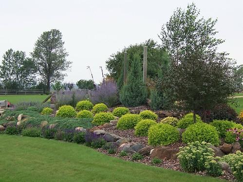 100b0320landscape design landscaping rock garden stone for Free rock garden designs