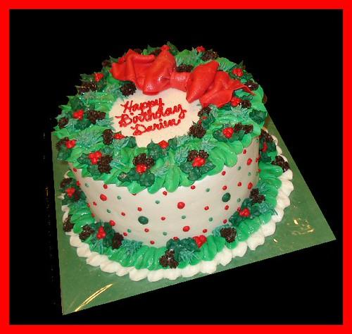 Christmas Birthday Cake Decorating Ideas