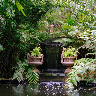 Lamorran House Gardens, Cornwall, UK | A coastal garden with interesting water features (6 of 11) | by ukgardenphotos